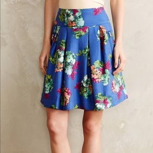 NWT Maeve Anthropologie Garden Days Skirt Size 6